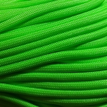Paracord 550 Neon Green 100'