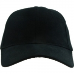 Ballcap - Blank - Black Brushed