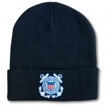 USCG Watch Cap 100% Wool with Emblem