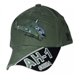 Assorted Ballcap - AH-1 Cobra - Olive Drab