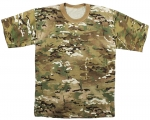 Multicam Camo - Short Sleeve 100% Cotton T-Shirt