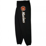 PT Sweatpants - US Marine - Black with Logo