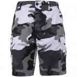 BDU Shorts - Urban Camo - Poly/Cotton