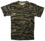 Tiger Camo - Short Sleeve T-Shirt