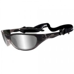 Wiley X: Air Rage Polished Silver Lens/Crystal Frame