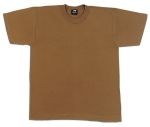 Army Brown - Short Sleeve 100% Cotton T-Shirt