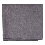 Grey Wool Blanket - 85% Wool/15% Synthetic