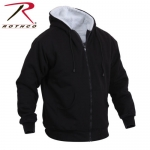 Sweatshirt - Rothco Heavyweight Sherpa Lined Zippered