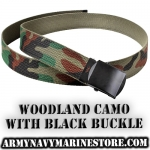 "Web Belts - Camo - 44"" and 54"""