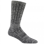 Merino Silk Hiker Socks - Charcoal