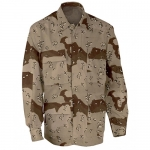 Closeout - Shirt BDU - Genuine Gear - 6 Color Desert Camo