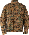 Genuine Gear BDU Shirt - Woodland Digital - Battle Ripstop