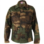 Kids Woodland Long Sleeve BDU Shirt