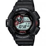 "Watch - Casio G-Shock ""Master of G"" Military Watch Black with Red"