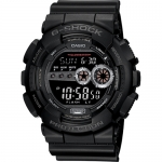Watch - Casio G-Shock Black Resin Digital Military X-Large Mens Watch