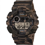 Watch - Casio G-Shock Digital Military Watch - Woodland Camo