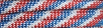 Red, White and Blue - 50ft - 550 Paracord
