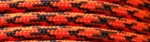 Orange Camo NOC - 50ft - 550 Paracord