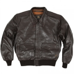 Leather Jacket - A2 Goatskin - Brown