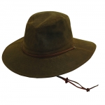 Men's Oil Cloth Brim Safari Sun Hat