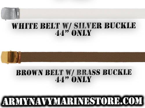"""Web Belts Assorted More 44"""" Only"""