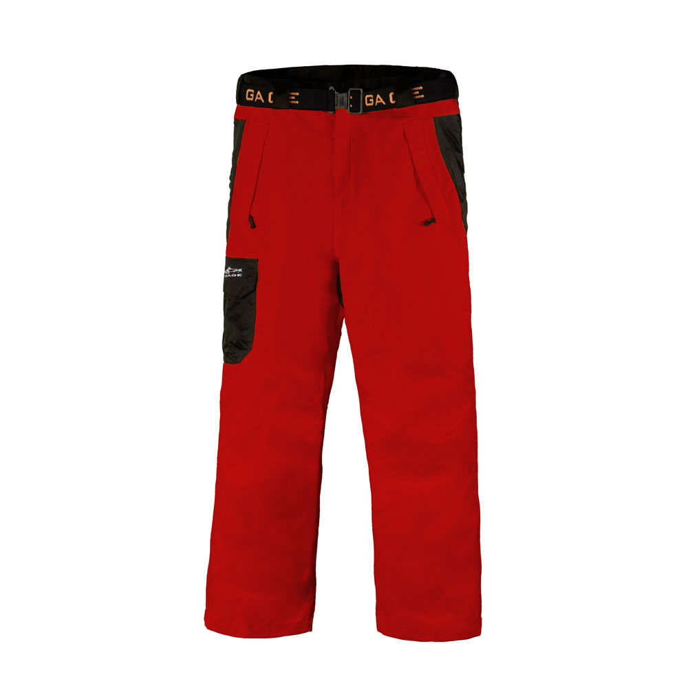 Pants - Grundens Gage Weather Watch - Red