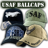 US Air Force Ballcaps