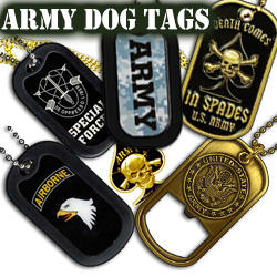 US Army Dog Tags