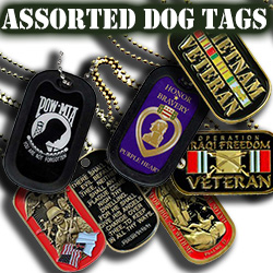 Assorted Dog Tags