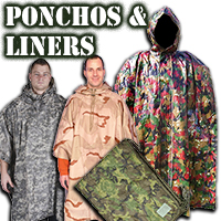 Ponchos and Liners