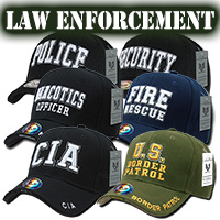 Deluxe Law Enforcement Caps