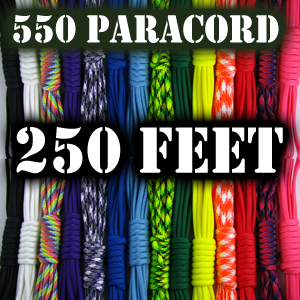 Paracord 550 - 250' Length