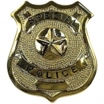 Special Police Badge - Gold