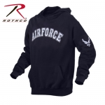 Rothco Air Force Military Embroidered Pullover Hoodies