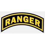 "U.S. Army Decal - 7"" - Ranger Arch"