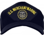 US Navy ID Ballcap - Merchant Marines Ballcap with Logo