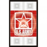 U.S. Army Decal - Tail Light - Star - 2 Decals