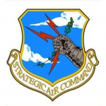 "U.S. Air Force Decal - 3.5"" Strategic Air Command"
