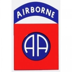 "U.S. Army Decal - 5"" - 82nd Airborne Insignia"