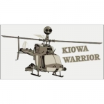 "U.S. Army Decal - 4.8"" x 2.4"" - ""Kiowa Warrior"""