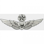 "U.S. Army Decal - 5"" - Army Master Aircrew Wings"