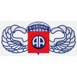 "U.S. Army Decal - 10"" - 82nd Airborne Div Wings"