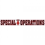 "U.S. Army Decal - 14"" - ""Special Operations"" Strip"