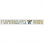 "U.S. Army Decal - 14"" Quartermaster Corps - Strip"