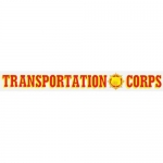 "U.S. Army Decal - 15"" - Transportation Corps Strip"