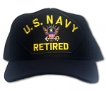 US Navy ID Ballcap - Retired