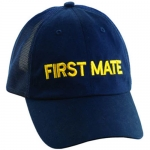 Assorted Ballcap - Dorfman Pacific First Mate Twill Sailing And Nautical Baseball Cap