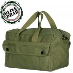Mechanic's Tool Bag with Brass Zipper - 6 Colors