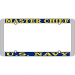 United States Navy Master Chief License Plate Frame