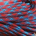 Paracord 550 Confederate Rebel 100'